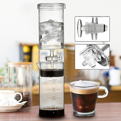 Cold Drip Coffee Dutch Brew Maker Home Iced Coffee Hand Machine Glass 400ml Free