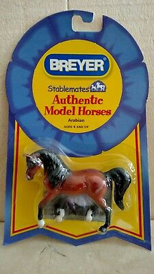 "Breyer stablemates authentic model Horse ""Arabian"""