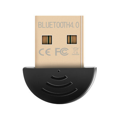 Mini USB 2.0 Bluetooth V4.0 Dongle Wireless Adapter For PC Laptop 3Mbps Speed NE