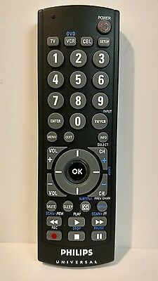 philips universal cl035a remote control sku321 9 99 picclick rh picclick com philips universal remote cl035a user manual philips universal remote control cl035a manual