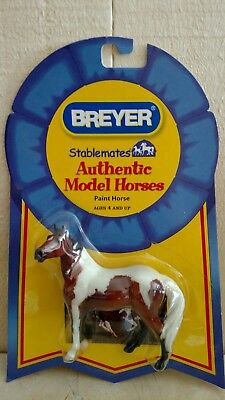 "Breyer stablemates authentic model Horse ""paint horse"