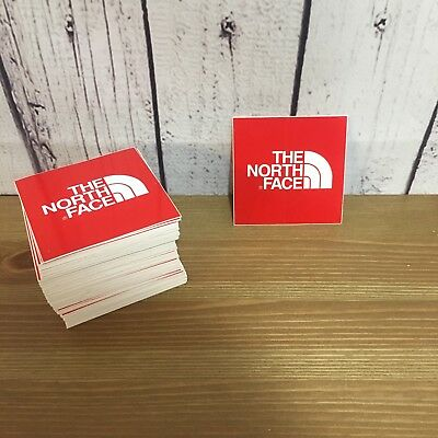 """The North Face Red 2.5"""" x 2.5"""" Vinyl Sticker! Buy 4 Get 1 Free!"""