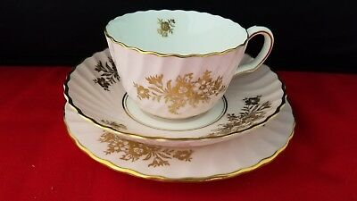 "Vintage Minton England Bone China Cup, Saucer & bread plate 6 1/4"" d"