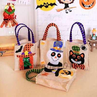 Halloween Pumpkins Tote Non woven Bag Ghost Festival Child Gift Candy Bag New UK
