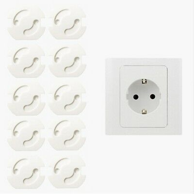 10PCS Kids Power Socket Cover Baby Security Protect Electrical Outlet Main Plug