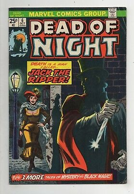 Marvel Comics Dead of Night #6 Bronze Age