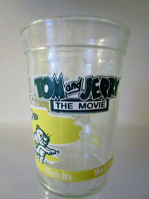 1993 Welch'S Tom & Jerry The Movie Jelly Glass