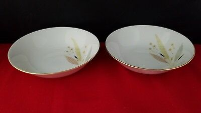 "Bareuther  5"" Fruit / Dessert Bowls  Bavaria Germany"