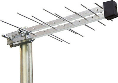 Digital TV Aerial 20 Element HD Freeview outdoor loft ariel arial antenna 4G