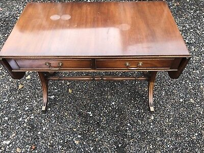 Mahogany Sofa Table. Antique.