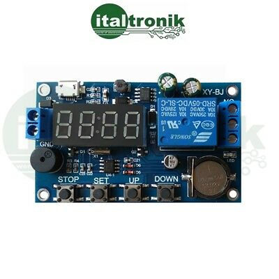 Module Timer With Watch And Date