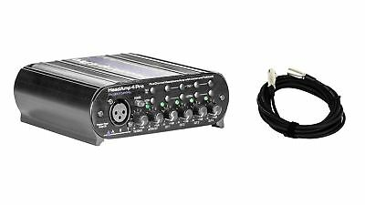 ART HeadAmp 4 Pro w/ Bonus XLR Cable Bundle