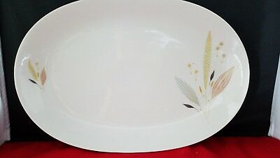 "Bareuther  Bavaria Germany Oval S erving Platter Plate Dish 12 1/2""× 8 1/2"""