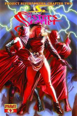 Project Superpowers Chapter 2 #4 The Sisters Scarlet Dynamite NM