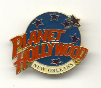 Planet Hollywood New Orleans Logo Pin