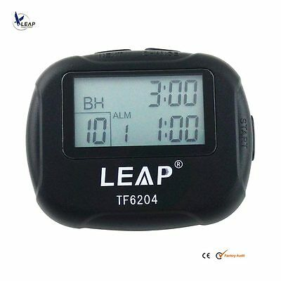 workout multiple interval training and circuit timer stopwatchleap portable lcd display tabata interval timer for fitness training boxing yoga