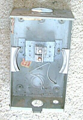 Milbank Meter Enclosure with Block Mount and Neutral Lug Set
