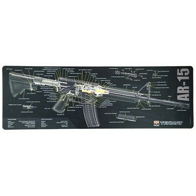 Sks rifle armorers gun cleaning bench mat wexploded view schematic tekmat 223 rifle double sided gun cleaning blackgray mat publicscrutiny Choice Image