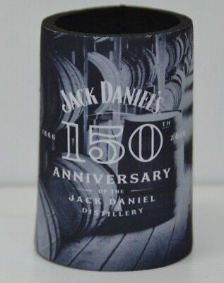 Jack Daniel's 150th Anniversary Of Distillery Brand New Can Cooler Stubby Holder