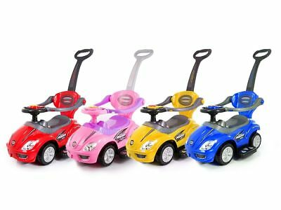 Baby Walker Ride On Toy Car Push Along 3 In 1 Parent Kids handle First Multi Fun
