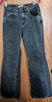 1a87f723948e19 GAP WOMEN'S HIGH WAIST Flare Jeans Medium Wash Size 6 (30x31) EUC ...