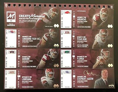 2018 Mississippi State Bulldogs Football Collectible Ticket Stub - Any Home Game