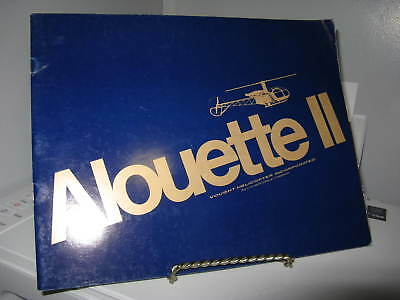 Alouette II Vought Helicopter Sales Brochure - 10 Pages - No documentation - VG