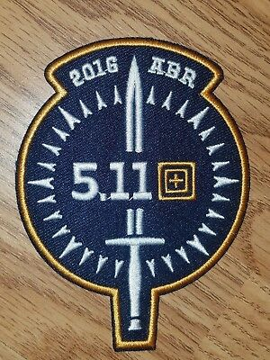 """5.11 Hook & Loop Patch 2016 ABR """"Always Be Ready"""" Limited Edition"""