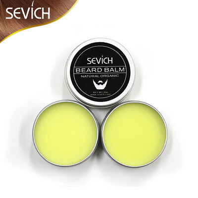 Sevich 30G Gift Natural Beard Oil Conditioner Balm Growth Organic Moustache Wax