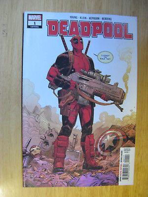 DEADPOOL #1, 2018. 1ST PRINT. (new with bag/board)