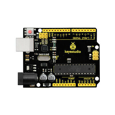 New ! Keyestudio UNO R3 ATmega328P ATMEGA16U2 Board For Arduino + USB Cable SZ