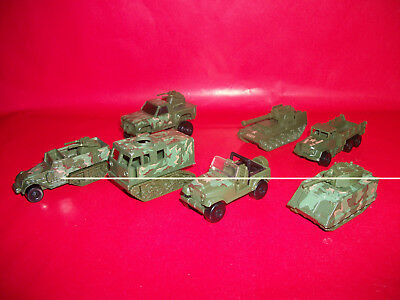 Lot of NICE vintage Hot Wheels Action Command vehicles Army Military
