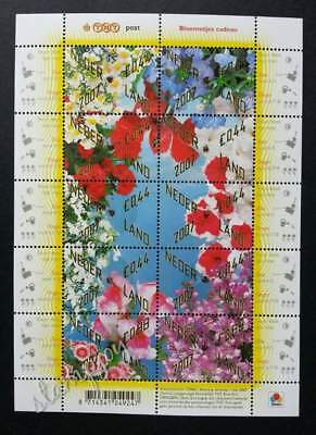 Holland Netherlands Flowers 2007 (sheetlet) MNH *seeds attached *unusual *Rare