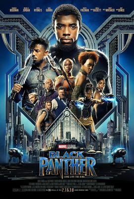 Black Panther DVD 2018 New Sealed Action, Marvel, Free Shipping