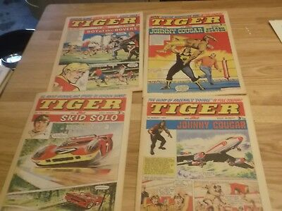 16 X Tiger And Jag  Comics  From The 1970S