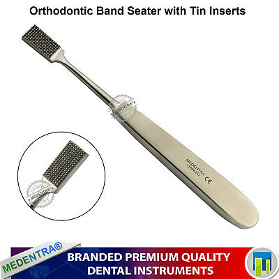 Dental Instruments Orthodontic Band Pusher Seating Band Seater Ortho Tools