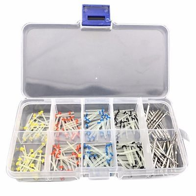 160 Pcs Dental Glass Fiber Post Single Root Canal Pins Resin + 32 Drills New