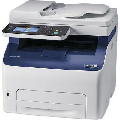 New Xerox WorkCentre 6027 All-in-One Color LED Printer