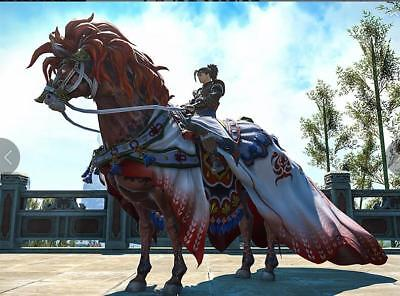 FINAL FANTASY XIV FFXIV FF14 Item Mounts Mount: Red Hare (Account-wide) Code GIL