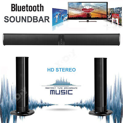 XGODY TV Home Theater Soundbar Bluetooth Sound Bar Speaker Built-in Subwoofer