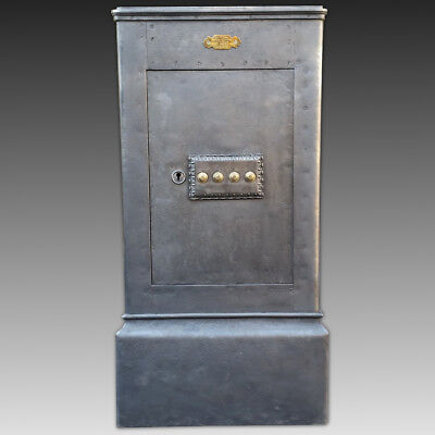 French Safe Strongbox - 19th century