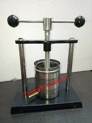 Tincture Press Extra heavy duty for making tinctures Analytical Lab Equipment