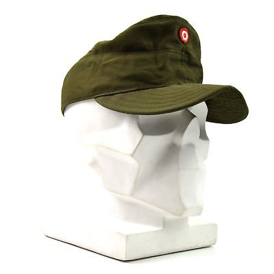Vintage Olive Drab Green Army Air Corps Hat Military Low Profile Adjustable 9714