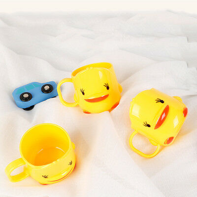 Lovely Yellow Duck Plastic Kids Toothbrush Toothpaste Holder Water Cup Opulent