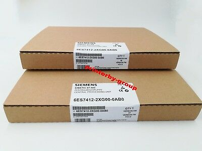100% NEW Siemens 6ES7412-2XG00-0AB0 in box 6ES7 412-2XG00-0AB0