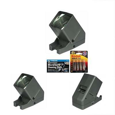 Medalight Slide Projectors 35mm Desk Top Portable LED Negative And Viewer + AA