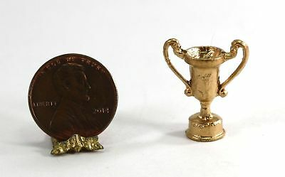 Dollhouse Miniature 1:12 Scale Trophy Cup in Gold