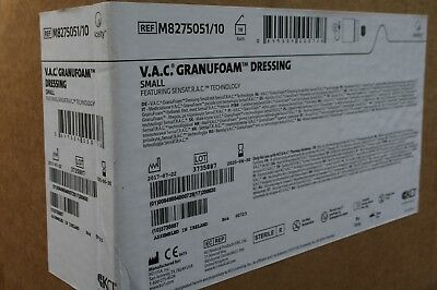 Lot of 10  VAC  GranuFoam Dressing SMALL for Wound VAC Therapy