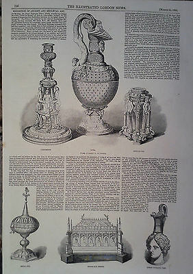 1850 Print Exhibition Of Ancient And Mediaeval Art