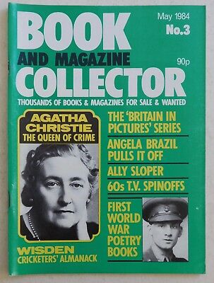 BOOK & MAGAZINE COLLECTOR #3 - 5/1984 - Agatha Christie, Angela Brazil